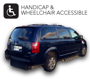 Handicap & Wheelchair Accessible | van